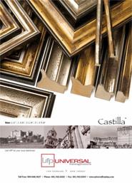 Castilla Picture Frame Moulding