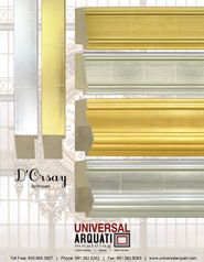 D'Orsay Moulding by Universal Arquati