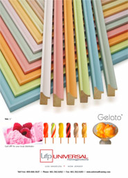 Gelato Picture Frame Moulding
