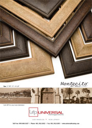 Montecito Picture Frame Moulding