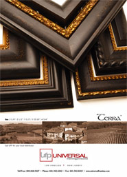 Terra Picture Frame Moulding