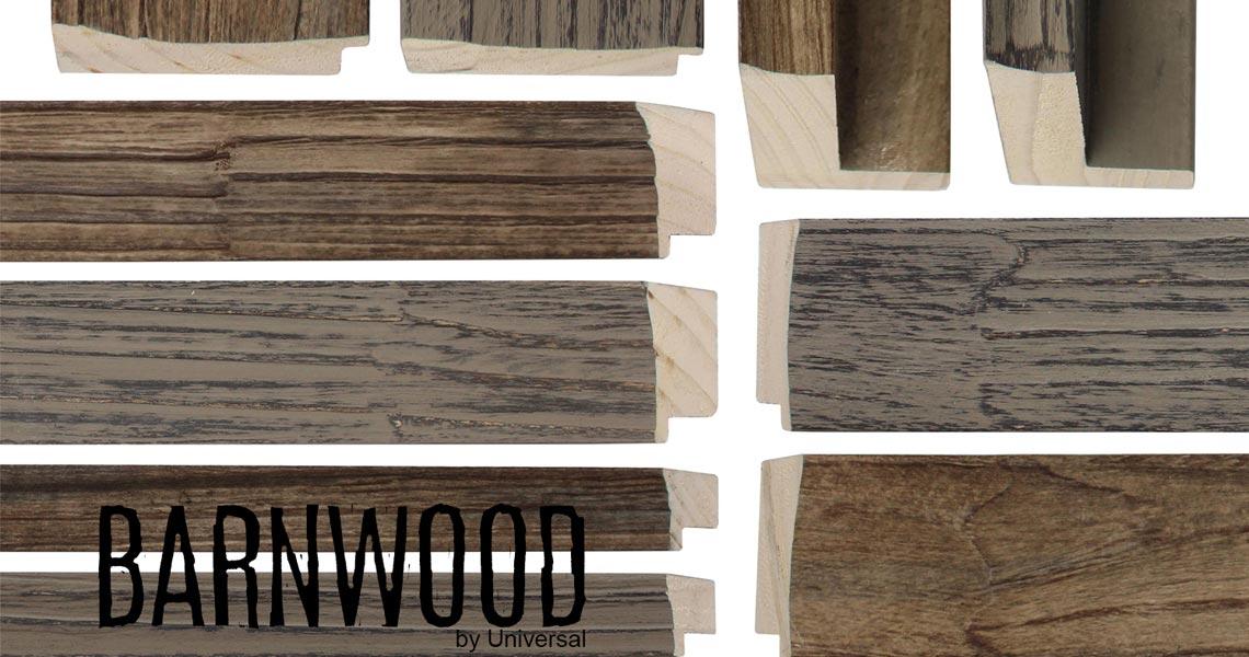 Barnwood - Picture Frames Moulding