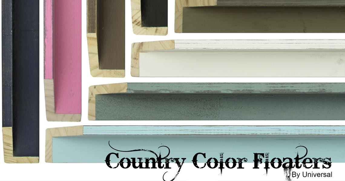 CC FLOATERS - Picture Frames Moulding