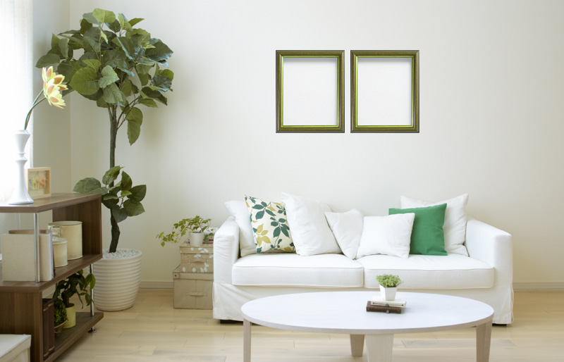 Picture frame - Horizontal Hanging Grid Options