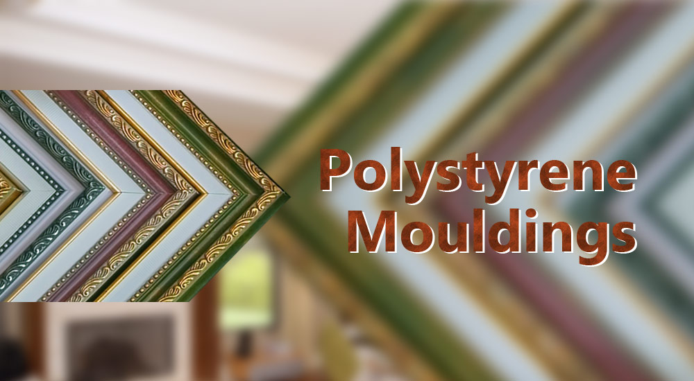 Use Polystyrene Mouldings to Make Art Painting Frames
