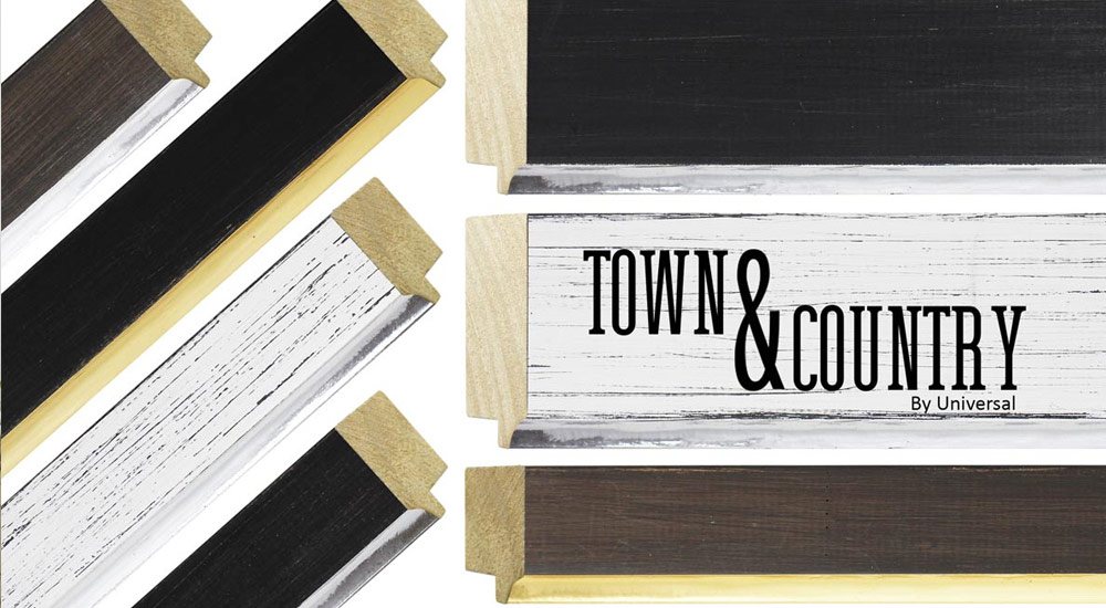 Town & Country Picture Frame Moulding