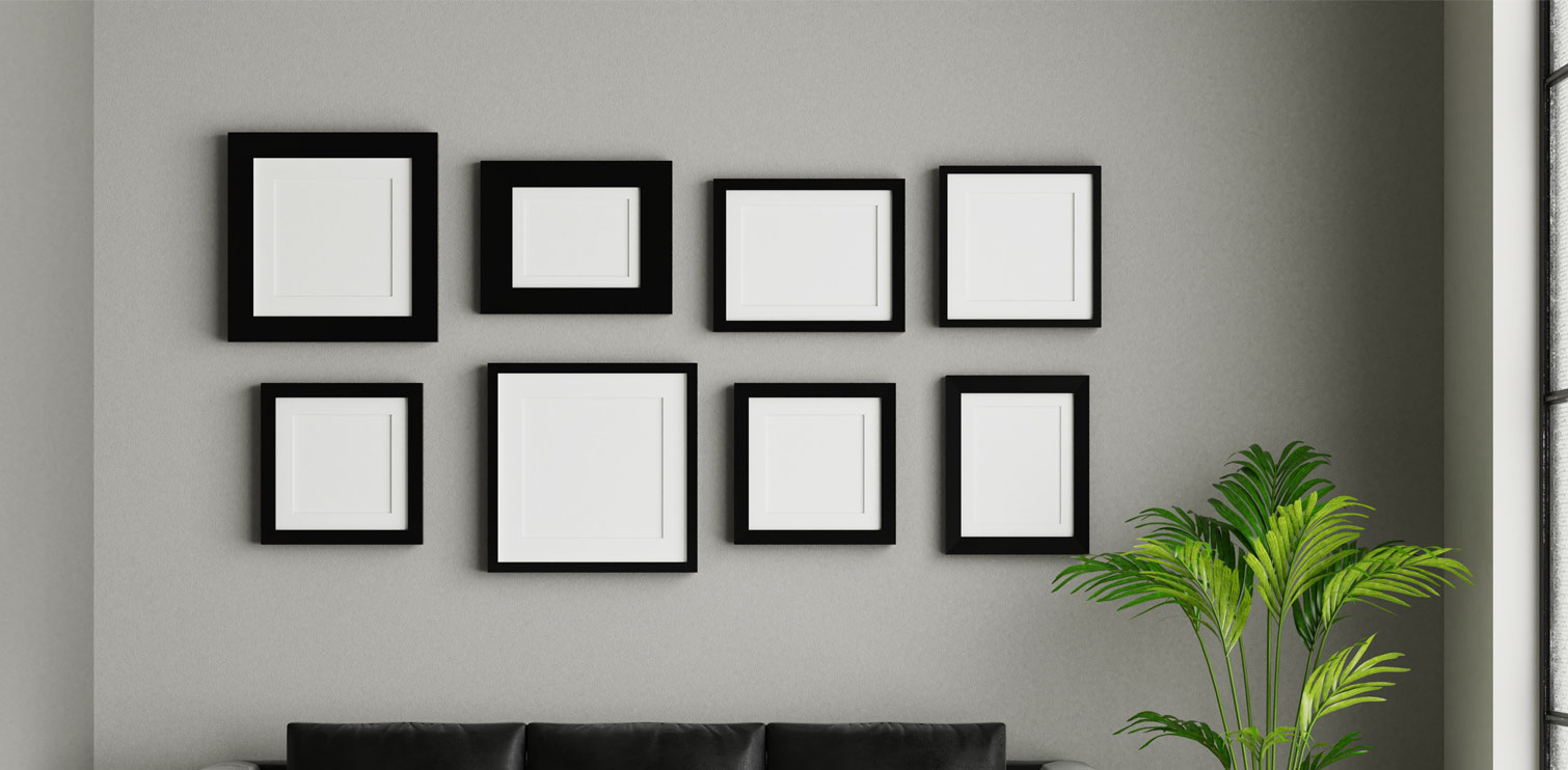 Picture frame - Eclectic Hanging Grid Options