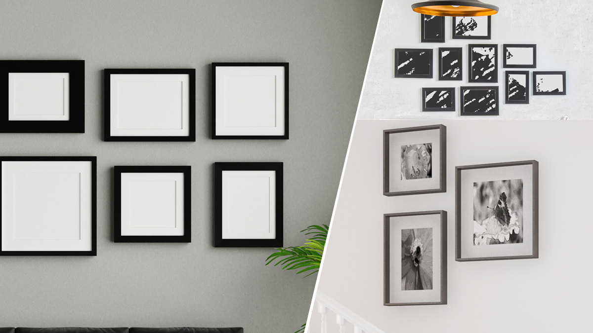 Arrange Your Modern Wall with Custom Picture Frames