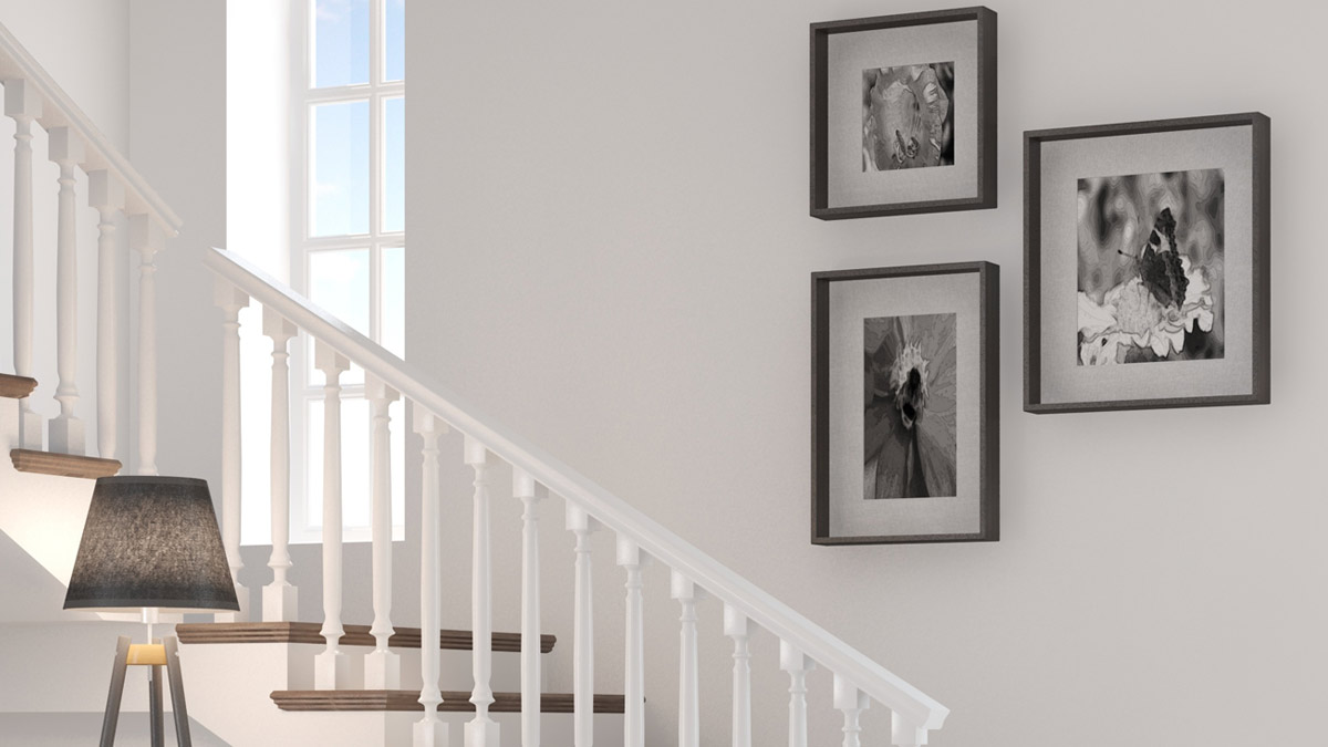 Picture frame - Staircase frame design ideas