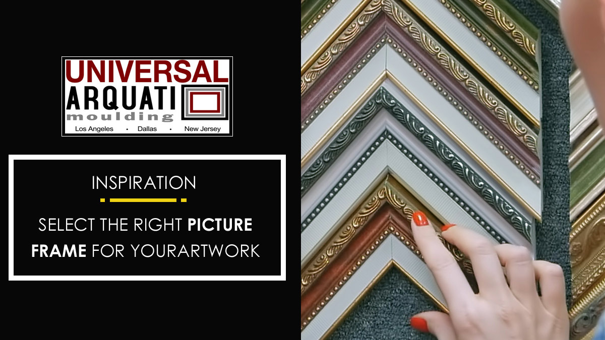 How to Select the Right Picture Frame to Compliment Your Artwork